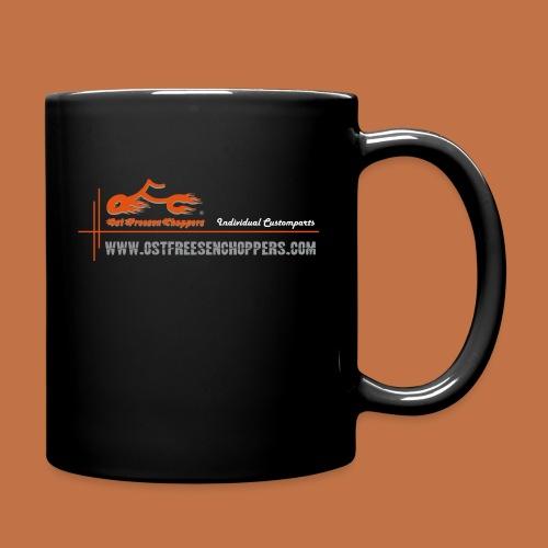 OFC Designlogo orangegrau 1 0 - Tasse einfarbig