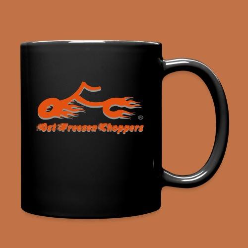 OFC Logo orangegrau 1 0 - Tasse einfarbig