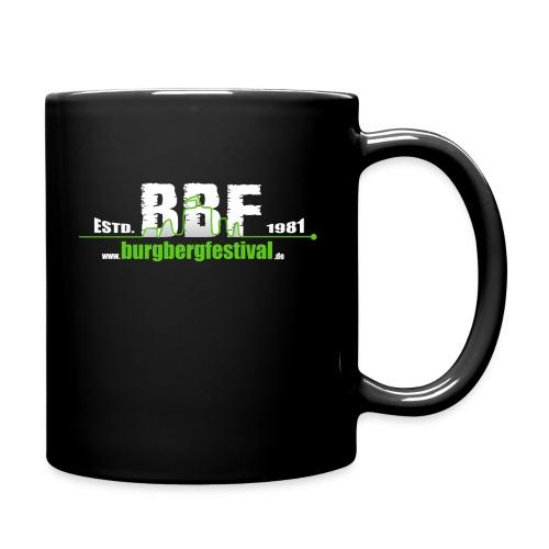 BBF_Logo_Grün - Tasse einfarbig