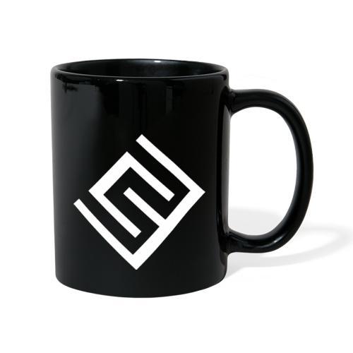CW logo vit - Enfärgad mugg