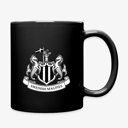 magpies-logo-svart - Enfärgad mugg
