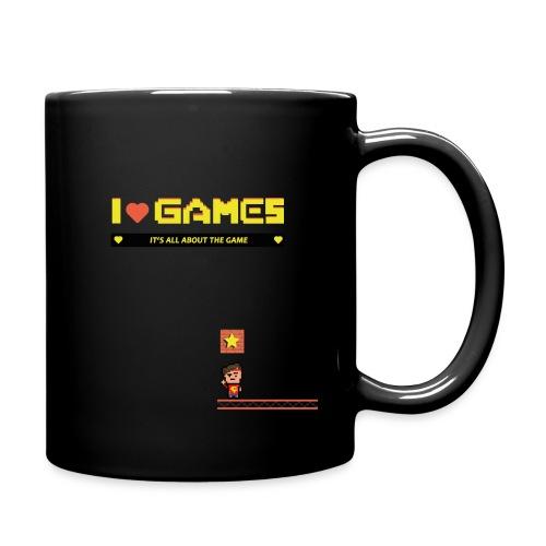 Tee final front png - Tasse einfarbig
