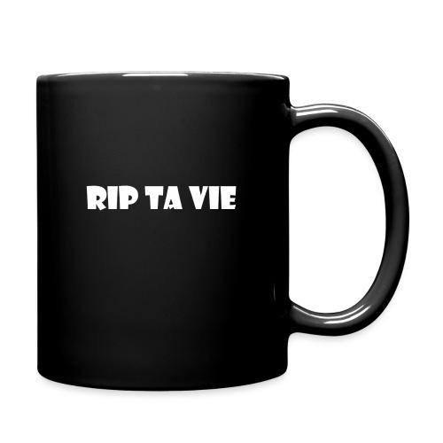 test rip ta vie blanc - Mug uni