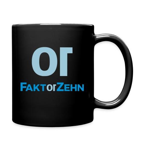 FaktorZehn_Logo_neu2 - Tasse einfarbig