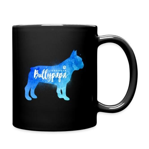 Liebender Bullypapa - Französische Bulldogge - Tasse einfarbig