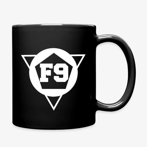 False 9 official logo white png - Full Colour Mug