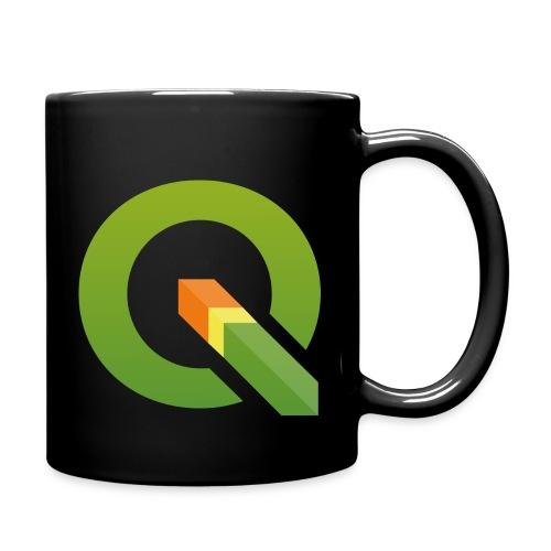 qgis logo 4000x3893px tra - Full Colour Mug