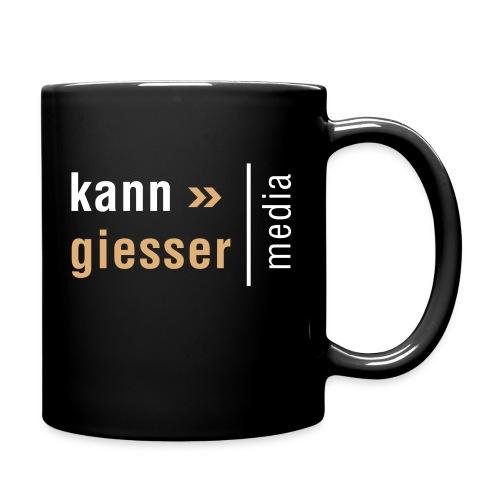 Kanngiesser-Logo - Tasse einfarbig