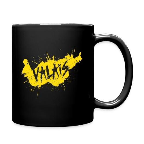 VALAIS GRUNGY GELB - Tasse einfarbig