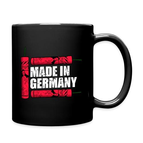 Silvester Feuerwerk Deutsche Knaller - Tasse einfarbig