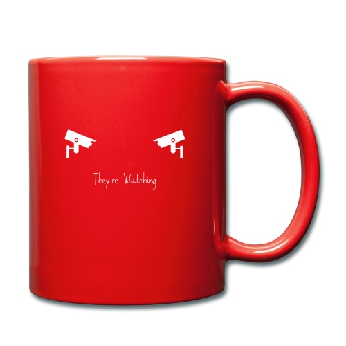 They're Watching - Full Colour Mug