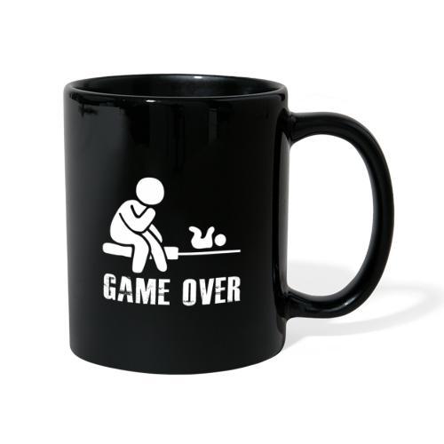 Game Over Werdender Vater - Tasse einfarbig