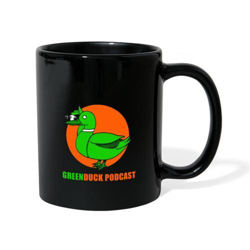 Greenduck Podcast Logo - Ensfarvet krus