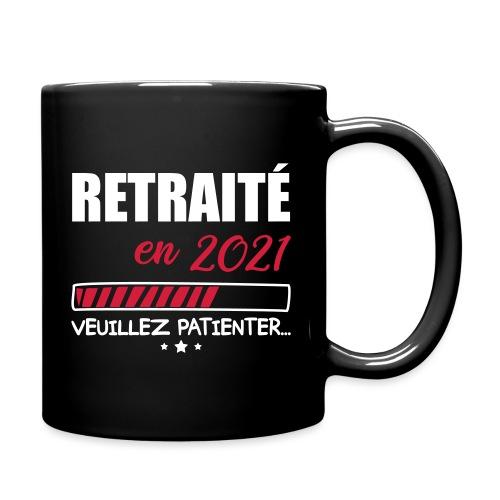Retraité en 2021, cadeau retraite, retraité - Full Colour Mug
