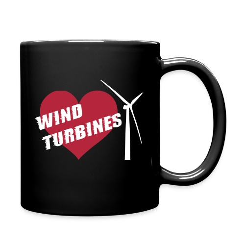wind turbine grey - Full Colour Mug