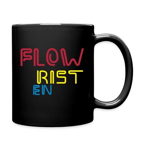 Flowristen-leuchtschrift - Tasse einfarbig