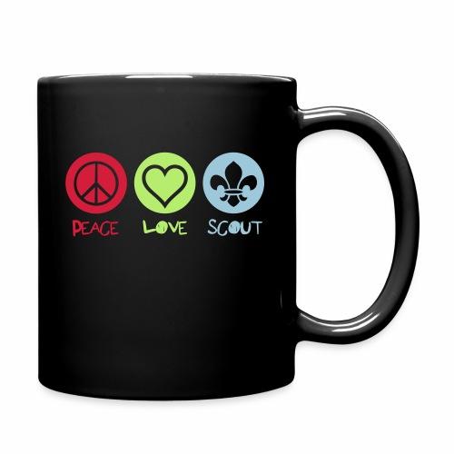 Peace Love Scout - Mug uni