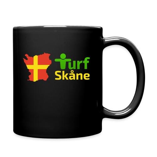 Turf Skåne Logo gul - Enfärgad mugg
