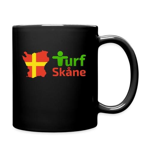 Turf Skåne Logo röd - Enfärgad mugg