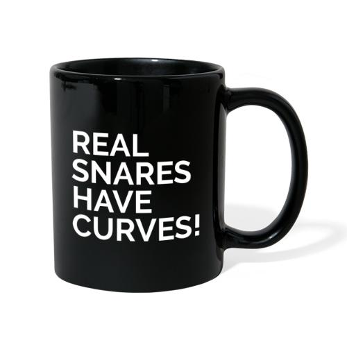 Real Snares Have Curves - Full Colour Mug