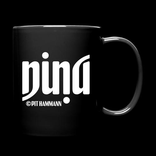 Ambigramm Nina 01 Pit Hammann - Tasse einfarbig