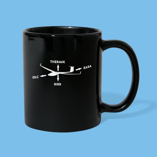 lustiger Segelflieger Spruch Pilot Geschenkidee - Tasse einfarbig