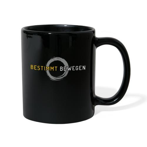 bestimmt bewegen - Logo - Tasse einfarbig