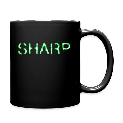 Sharp Clan black hoodie - Full Colour Mug