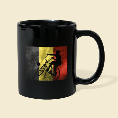 Radball | Flagge Belgien - Tasse einfarbig