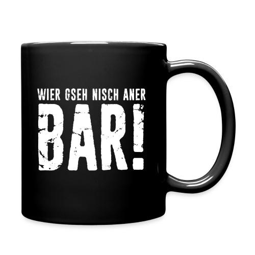 WIER GSEH NISCH ANER BAR! - Tasse einfarbig
