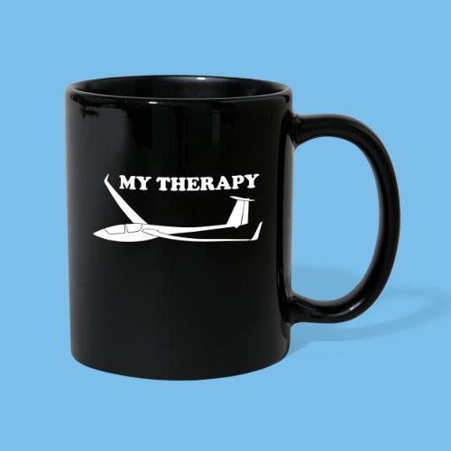 Therapie Segelflieger gleiten Segelflugzeug - Tasse einfarbig
