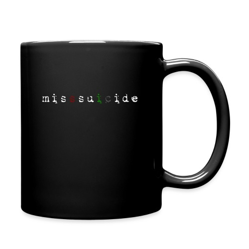 MissSuicide Logo - Tasse einfarbig