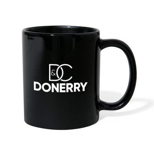 DONERRY New White Logo on Dark - Full Colour Mug
