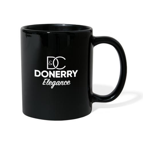 Donerry Elegance NEW White on Dark - Full Colour Mug