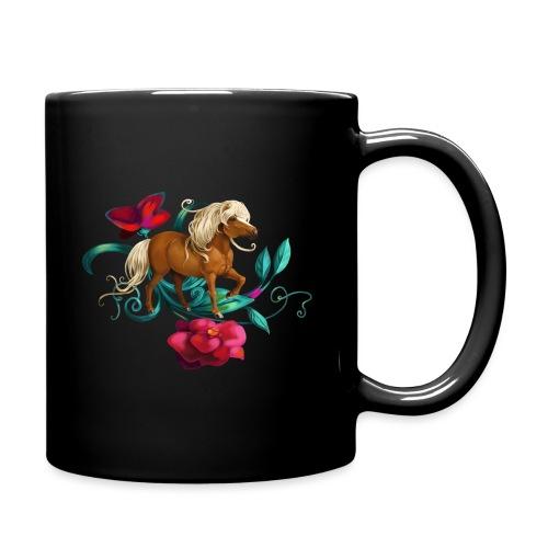 Kamelien Pony - Tasse einfarbig