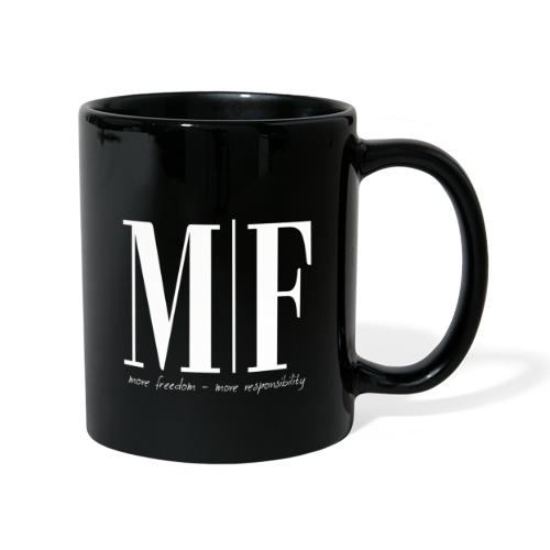 MF more freedom - Tasse einfarbig