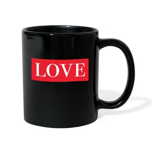Red LOVE - Full Colour Mug