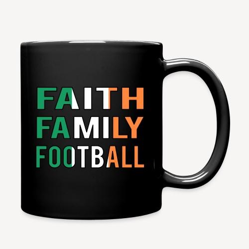 FAITH FAMILY FOOTBALL - Full Colour Mug