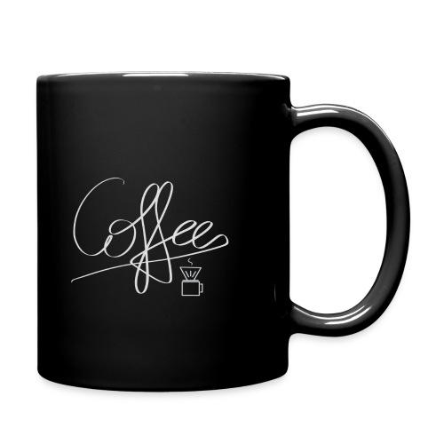 Coffee - Tasse einfarbig