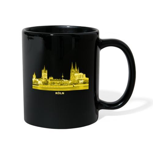 Köln Dom Rhein Nordrhein-Westfalen Deutschland - Tasse einfarbig