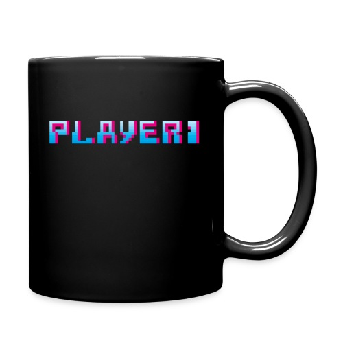 Arcade Game - Player 1 - Full Colour Mug