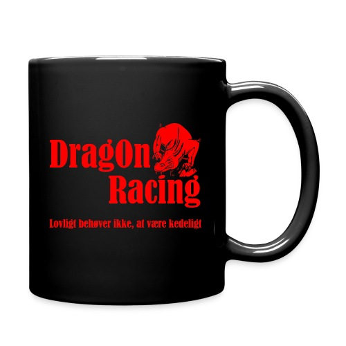 DragOn Racing - Ensfarvet krus
