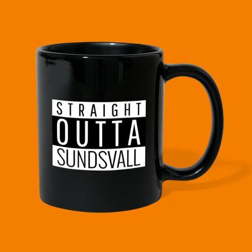 Straight outta Sundsvall - Enfärgad mugg