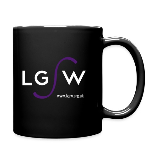 LGSW_large_black - Full Colour Mug