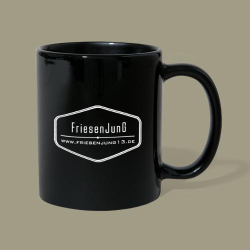 FJ Logo HighRes Spreadshi - Tasse einfarbig