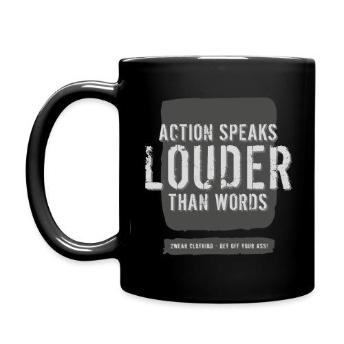 Action Speaks - 2wear Classics - Ensfarvet krus
