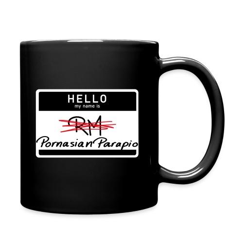hello my name is Parapio - Full Colour Mug
