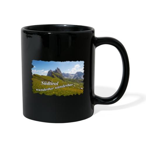 Südtirol - wunderbar wanderbar - Tasse einfarbig