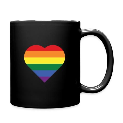 RainbowHeart - Full Colour Mug