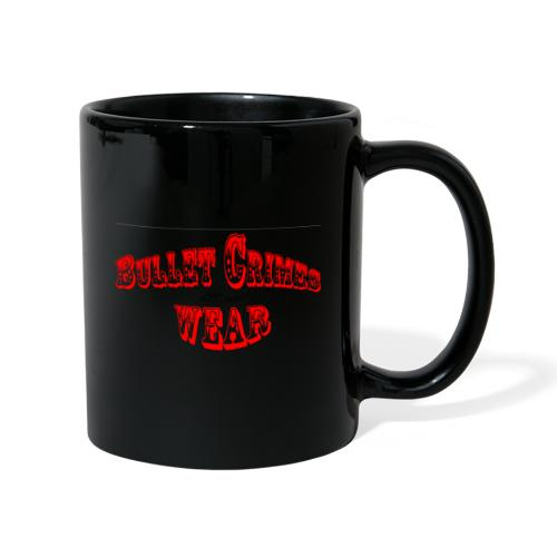 Bulletcrimeslogo2 - Taza de un color